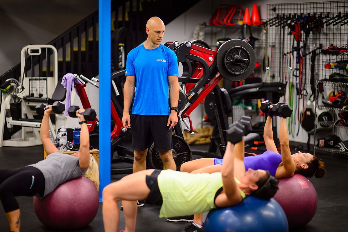 OneLife Kelowna Gym Fitness Personal Group Training Trainers Okanagan Scott