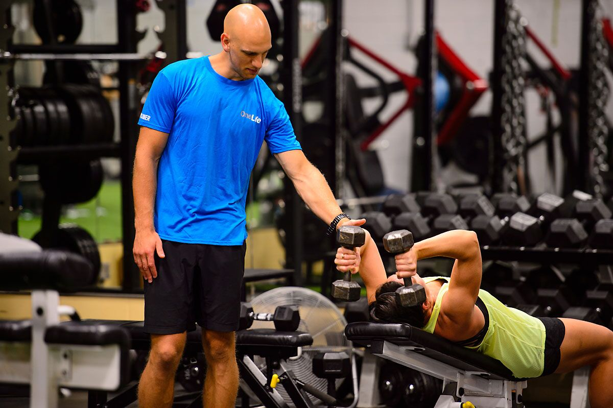 Kelowna Personal Individual Training Gym OneLife Group Classes