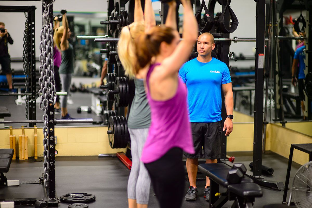 Kelowna Personal Training Gym Coaching 2 on 1 Training Group