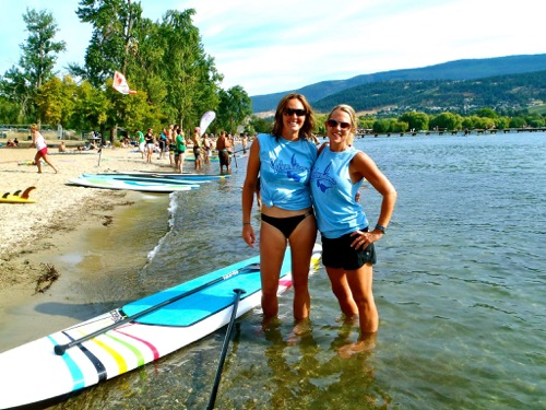 Kelowna-gyms-One-Life-Fitness-personal-trainer-Michelle-Blackford-SUP