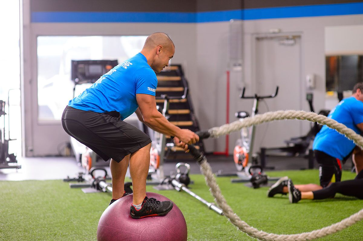 Personal Trainers Booty Workout Kelowna Gym