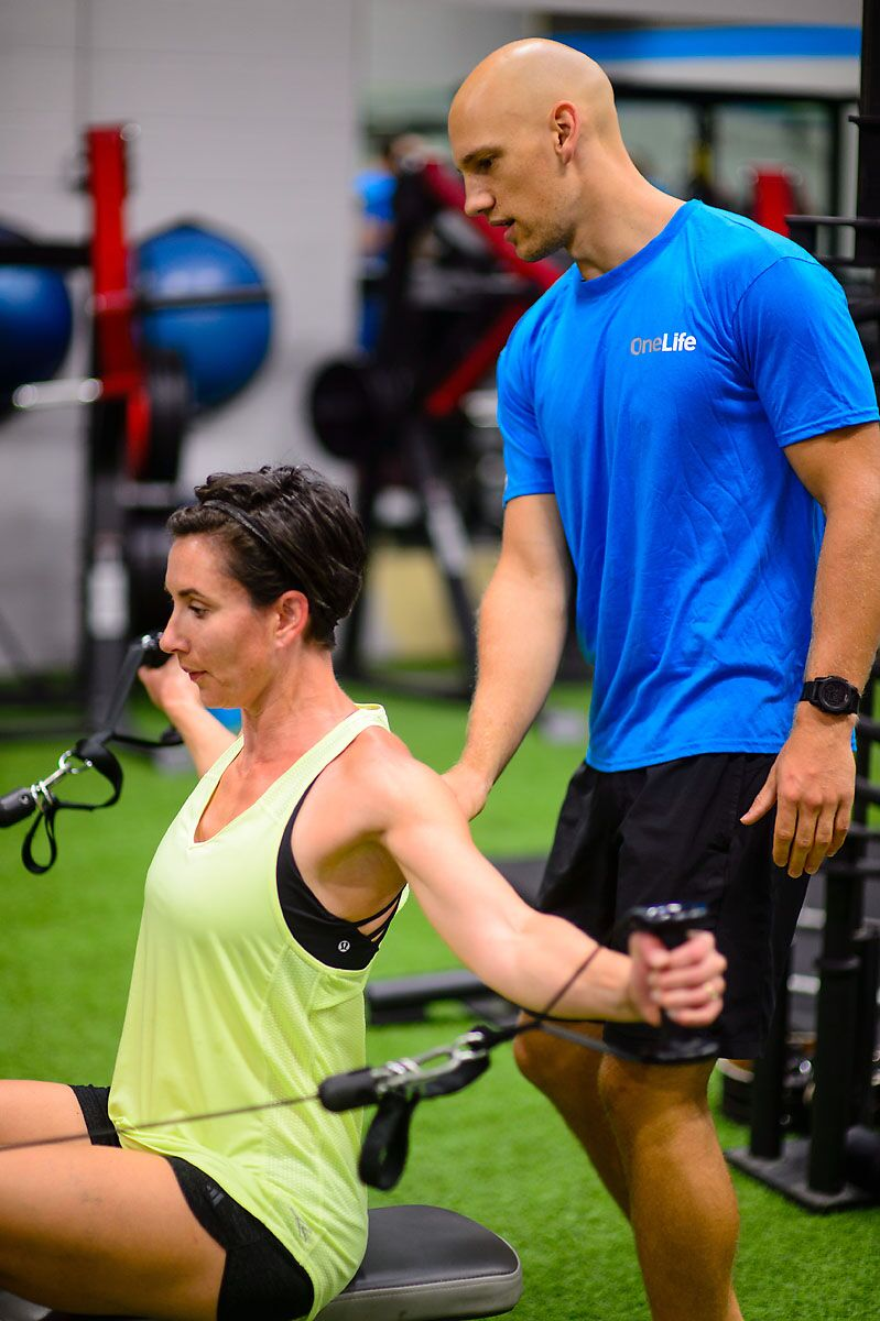 Kelowna Personal Trainer Gym Back Exercises Build Muscle