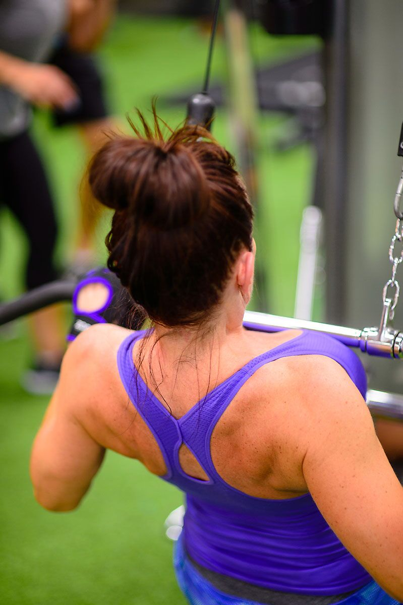 Kelowna Personal Trainer Gym Back Exercises Build Strength