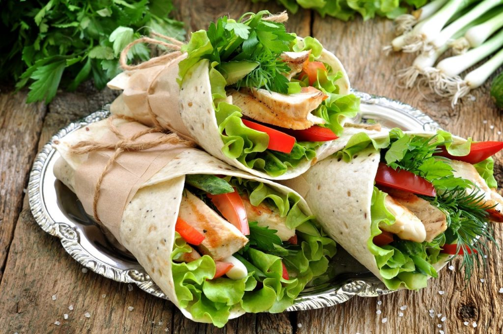 wraps-healthy-bodybuilding-fast-food-options-One-Life-Fitness-Kelowna